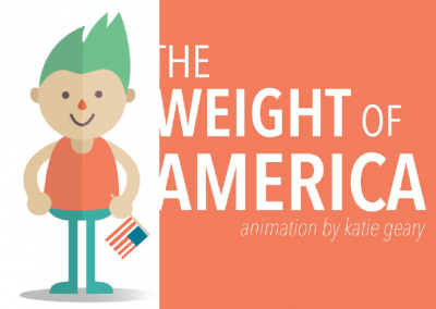 THE WEIGHT OF AMERICA