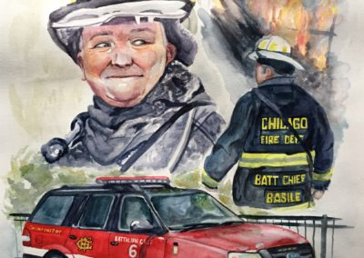 RETIRED FIREMAN | PORTRAIT